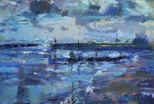 FBA Collections: Rivers and Lakes / Fresh Water scenes exhibited by Federation of British Artists Member Societies at Mall Galleries