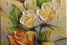 késes rózsacsokor