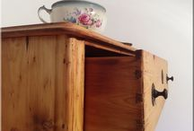 Egyedi antik bútorok / Antik, industrial loft, vintage stílusú fa és vas berendezési tárgyak