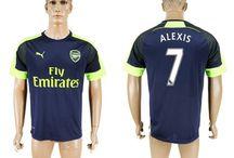 Billige Alexis Sanchez trøje / Køb Alexis Sanchez trøje 2016/17,Billige Alexis Sanchez fodboldtrøjer,Alexis Sanchez hjemmebanetrøje/udebanetrøje/3. trøje udsalg med navn.