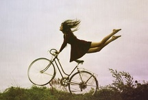 Girls and bike