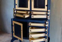 sewing storage / by Karen Hill Tanner