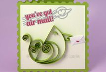 PAPER ZEN - Greeting Cards / DIY greeting cards including quilling, die cutting, stamping
