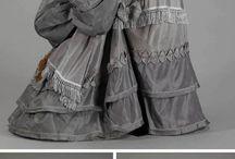 1800s skirts