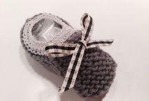 Isa knitting