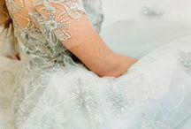 Enchanté / Hints of an enchanted winter ebbing and flowing into the Fresh spring blooms, soft and delicate of spring. Soft floaty tulle, serenity blue, delicate elegant blooms, old world charm. Think lots of romance & elegance, perfect for the fine art bride!   Winter to spring transition wedding style in one half of Pantone Colour of the year, Serenity.