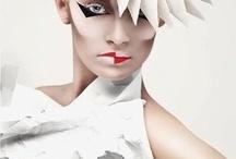 Block colour fashion editorial