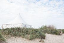 Dekoration Strandhochzeit