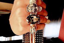 Fashion gold&silver