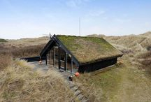 TINY SOD-ROOFED HOUSE IN DENMARK