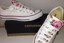 Blumen Converse