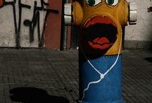 Intervenção urbana / Urban art / arte urbana vista em viagens