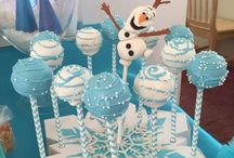 Frozen birth day party