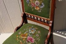 Needlepoint - chairs