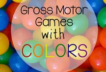 Gross motor games