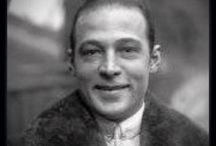 "1) Rudolph Valentino was both smiling and handsome. They says that he was darkly handsome. / Rudolph Valentino said: ""Women were not in love with me but with the picture of me on the screen. I was merely the canvas on which women painted their dreams."""