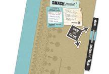 Smash Books/Scrapbooking