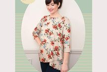 sewing - patterns - tops