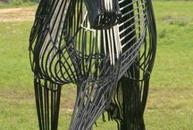 Sculptures and Art