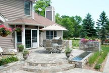 Patios / Beautiful outdoor patios in Minneapolis area.  For more information, check out http://www.naturalenvironmentscorp.com/patios-minneapolis.html