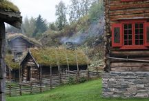 Old Norwegian farm