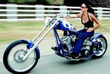 motorcycle girl's