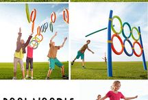 Indoor sports. Get up and move/Lets have a bawl camps / Waring (wearing?) kids out activities