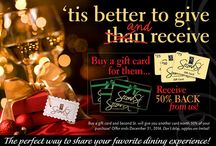 Tis the Season for Gift Giving / Perfect stocking stuffers- Buy Newport News Gift Cards / by Newport News, VA