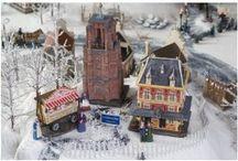 Dickensville Elfsteden / De leukste kerstdorpen maak je met de Dickensville Elfsteden serie! Tot in de kleinste details zijn diverse kenmerkende gebouwen en scènes van de elfsteden route nagemaakt!
