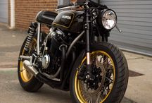 Motorcycle Projects / Restomod builds