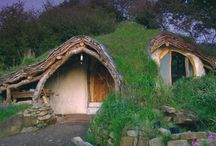 Hobbit house / Dom w górze