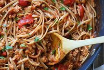 Skinnytaste- Pasta / Tasty and healthy pasta recipes (includes nutritional values and WW point values)