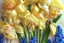 RibbonEmb - Tulip, Narciss, Iris ...