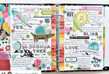 Planning - Simple Stories / Planner pages and ideas using the simple stories brand