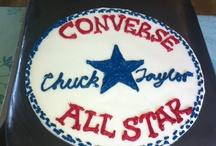 Converse Chuck Taylor Birthday Cake