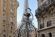 Beaux endroits parisiens