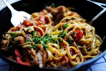 Pasta For Dinner! / Main Dishes with Pasta / by Kelly Parker-Terzo