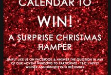 Christmas Advent Calendar Competition / We've got a fun #Giveaway over on Facebook, simply answer the question in one of our daily advent windows for your chance to win a Christmas hamper!