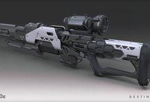 Guns / Guns futuristes et autre possible inspiration