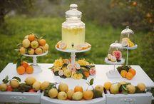 Orchard wedding ideas