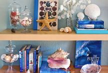 book shelf styling / stylish yet functional bookshelves