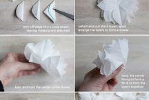 Fleur papier