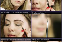 Make up tutorials / Learning tips and tricks on perfect makeup