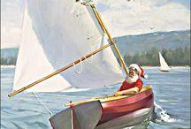 sailing christmas