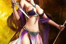 Ⓐⓡ〒 Fantasy / CG / Pinups / Games Ƹ̵̡Ӝ̵̨̄Ʒ / Belas imagens ilustradas, desenhadas, pintadas ou computadorizadas com temas relativos a games, pinups e fantasia.