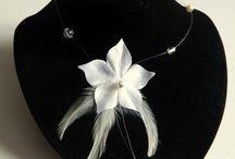 Bijoux mariage Ivoire / Des bijoux pour la mariée ivoire : collier, bracelet, parure et accessoires de cheveux