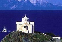 Amazing places in Greece Northeast Aegean Islands.