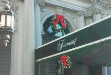 The Fairmont at Holiday Time