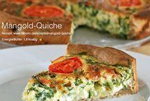 Quiche, Flammkuchen und Pizza