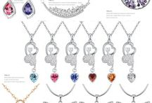 Exclusive SWAROVSKI Necklaces - Yohanna Jewelry Wholesale / Swarovski crystal pendant & necklaces with wide range. Online jewelry wholesale with genuine SWAROVSKI crystals jewellery. International jewelry wholesale with vat free prices, only EU partners with valid UID number.  link: http://yohannajewelrywholesale.com/en/14-necklace